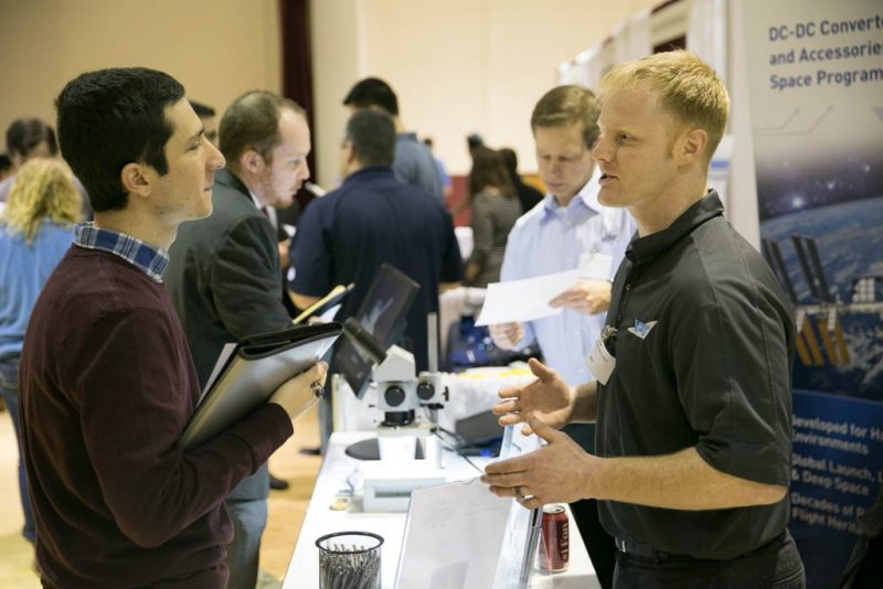 career fair photo